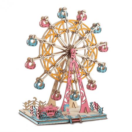 wooden Ferris wheel 3d puzzle