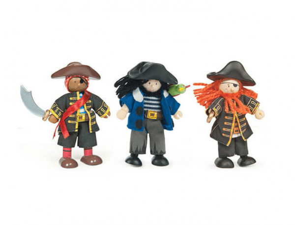 wooden pirates