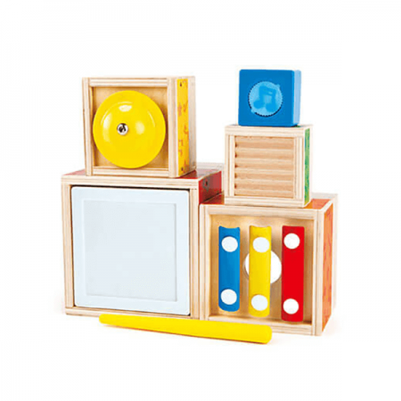 Wooden baby sensory toy