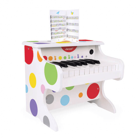 wooden piano toy