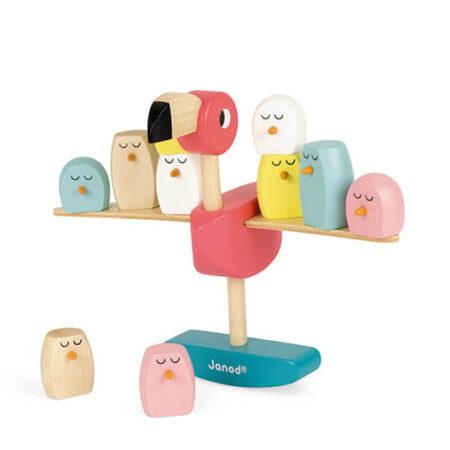 Wooden Children's stacking Blocks Toy