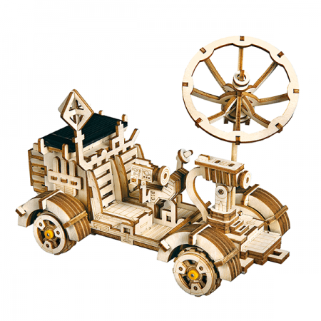wooden moon buggy 3d puzzle