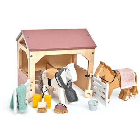 wooden stables toy
