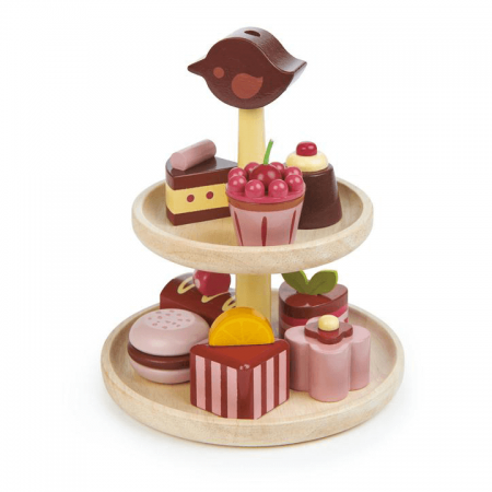 wooden cakes stand