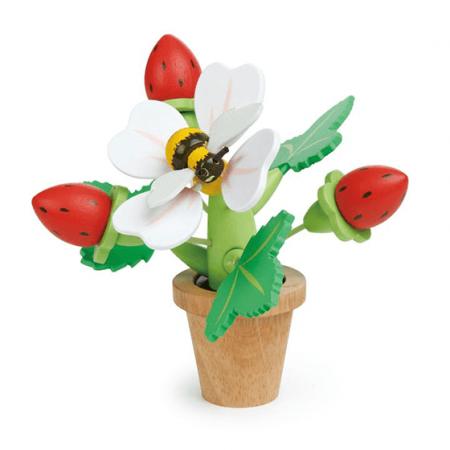wooden flower toy