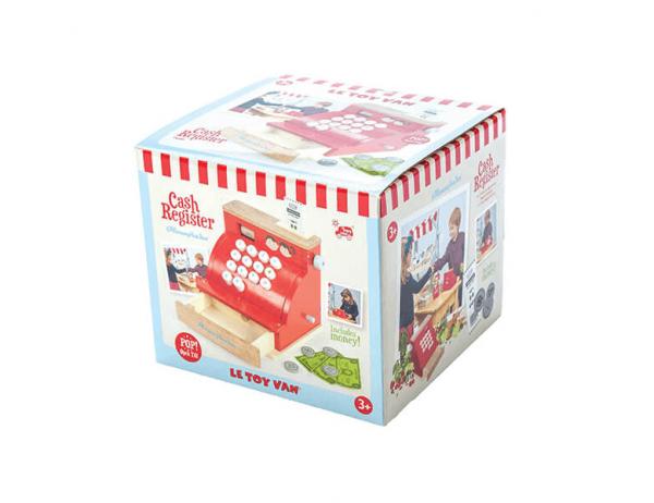wooden cash register toy