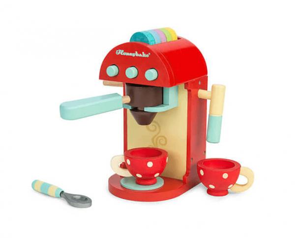 wooden cafe machine