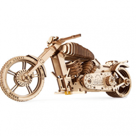 wooden 3d bike puzzle