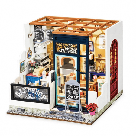 wooden bakery 3d puzzle