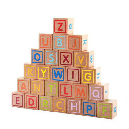 Wooden Children's stacking Blocks Toy