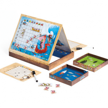 wooden pirates battleships game