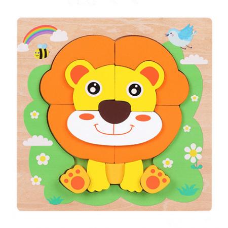 wooden children's puzzle toy