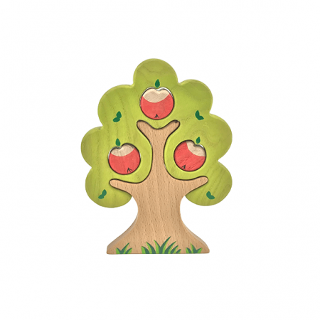 wooden tree jigsaw toy