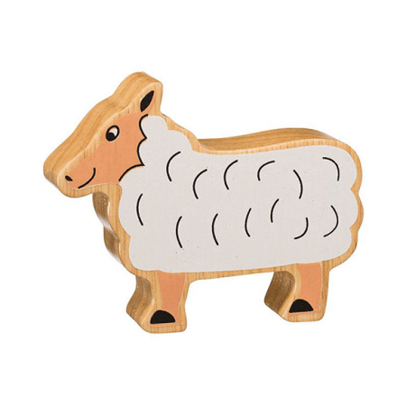 wooden sheep animal toy