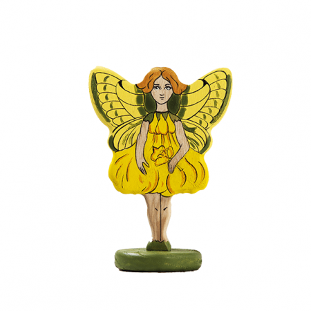 wooden fairy toy