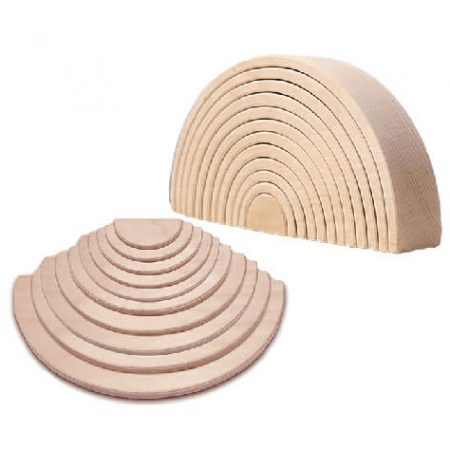 wooden stacking boards toy