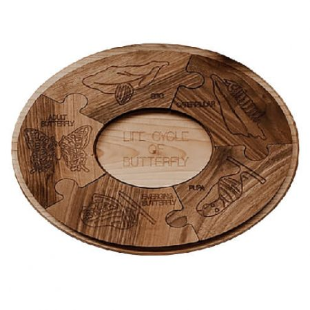 wooden jigsaw