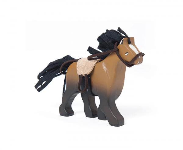 wooden horse animal toy