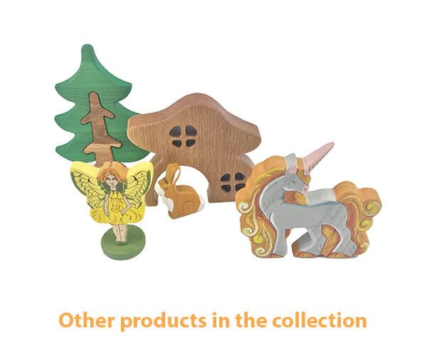 wooden mythical toy