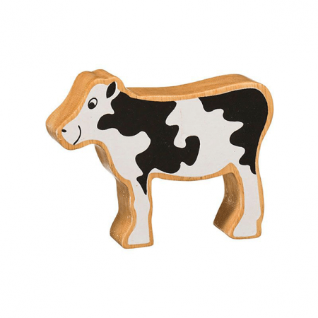 wooden cow animal toy